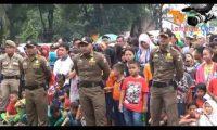 Jalan Sehat Semarkan HUT Korpri Dan HGN 2016