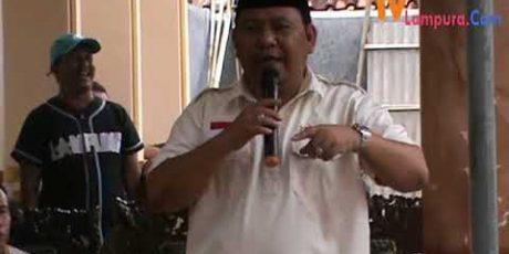 Masyarakat Lampura Dambakan Sosok Zainal Abidin