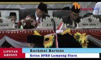 Paripurna Penyampaian Visi-Misi Bupati & Wakil Bupati Lampura Periode 2019-2024.1
