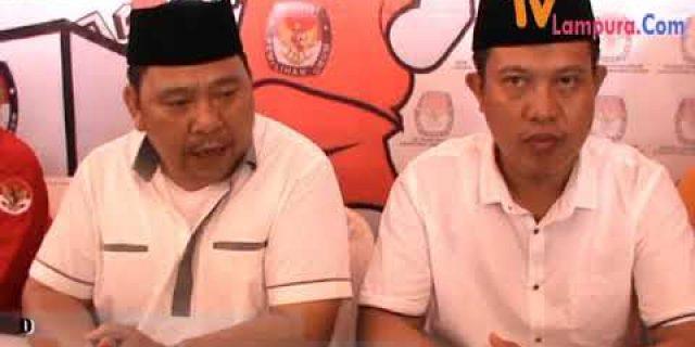Ribuan Massa Kawal Zainal-Yusrizal Daftar Ke-KPU
